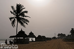 Photo : Route des pêches, Cotonou, Benin, Littoral, Bénin