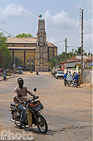 Photo : Cathédrale de Porto-Novo, Ouémé, Bénin