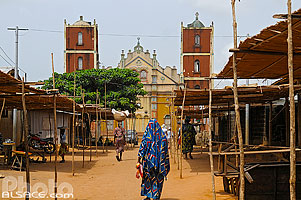 Photo : Grande Mosquée de Porto-Novo, Ouémé, Bénin