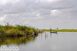 Photo : Entre Véki et Ganvié, Lac Nokoué, So-Ava, Atlantique, Bénin