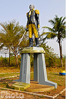 Photo : Statue de Toussaint Louverture, Allada, Atlantique, Bénin