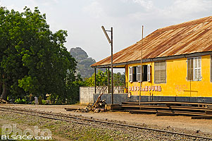 Photo : Gare de Dassa-Zoumé, Collines, Bénin