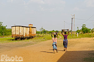 Photo : Gare de Dassa-Zoumé, Collines, Bénin, Collines, Bénin