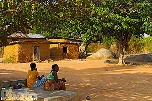 Photo : Village de Camaté-Shakaloké, Dassa, Collines, Bénin, Collines, Bénin