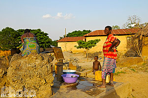 Photo : Point d'eau, Camaté-Shakaloké, Dassa, Collines, Bénin, Collines, Bénin