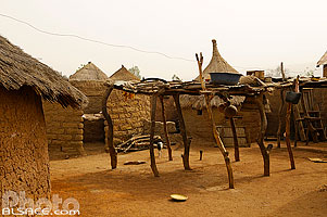 Photo : Village traditionnel de Batia, Atakora, Bénin
