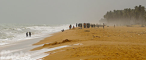Photo : Plage de Ouidah, Atlantique, Bénin, Atlantique, Bénin