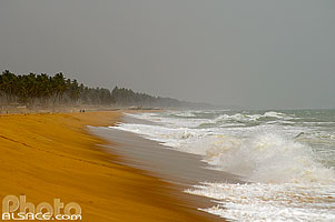 Photo : Plage de Ouidah, Atlantique, Bénin