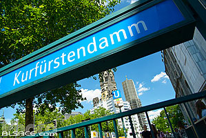 Photo : Station U-Bahn Kurfürstendamm, Charlottenburg-Wilmersdorf, Berlin, Allemagne