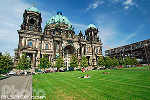 Photo : Berliner Dom (Cathédrale de Berlin), Lustgarten, Berlin, Allemagne, , Allemagne
