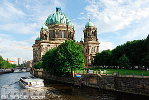Photo : Berliner Dom (Cathédrale de Berlin) et la Spree, Berlin, Allemagne, , Allemagne