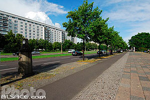 Photo : Karl-Marx-Allee, Berlin, Allemagne, , Allemagne