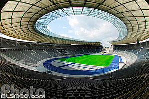 Photo : Olympiastadion (Stade olympique), Berlin, Allemagne