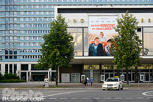 Photo : Kino International, Karl-Marx-Allee, Mitte, Berlin, Allemagne