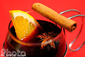 Photo : Vin chaud, Alsace