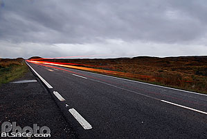 Photo : Route A87, Rannoch Moor, Highlands, Scotland, United Kingdom
