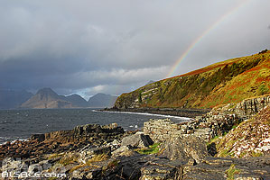 Photo : Arc-en-ciel, Elgol, Isle of Skye, Highlands, Scotland, United Kingdom, Highlands, Scotland