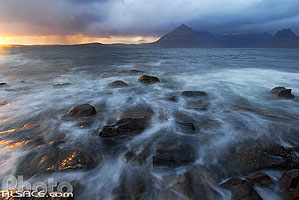 Photo : Cuillin Hills et Loch Scavaig, Elgol, Isle of Skye, Highlands, Scotland, United Kingdom, Highlands, Scotland
