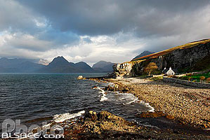 Photo : Elgol et les Cuillin Hills, Isle of Skye, Highlands, Scotland, United Kingdom, Highlands, Scotland