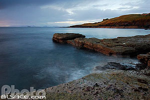 Photo : Duntulm Castle, Isle of Skye, Highlands, Scotland, United Kingdom, Highlands, Scotland