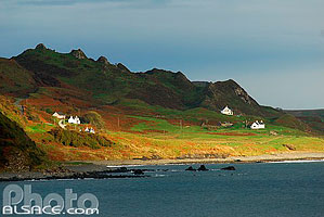 Photo : Staffin Bay, Isle of Skye, Highlands, Scotland, United Kingdom