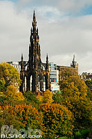 Photo : Scott Monument, Princes Street Garden, Edinburgh, Lowlands, Scotland, United Kingdom