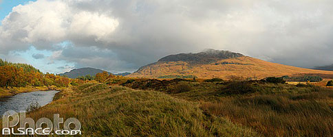 Photo : Meall nan Eagan, Glen Spean, Highlands, Scotland, United Kingdom