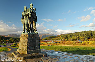 Photo : Commando Memorial, Spean Bridge, Highlands, Scotland, United Kingdom
