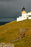 Photo : Point of Stoer lighthouse, North West Sutherland, Highlands, Scotland, United Kingdom, Highlands, Scotland