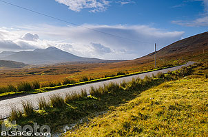 Photo : Route A838 (North Coast 500), North West Sutherland, Highlands, Scotland, United Kingdom