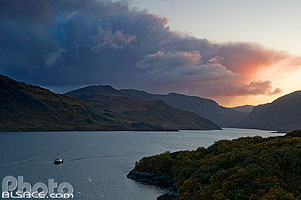 Photo : Loch Glendhu, Kylesku, North West Sutherland, Highlands, Scotland, United Kingdom