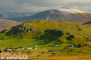 Photo : Elphin et Ben More Assynt, North West Sutherland, Highlands, Scotland, United Kingdom