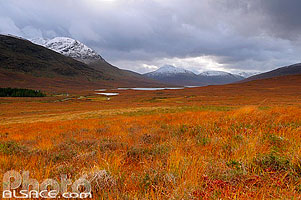 Photo : A'Chailleach, Groban et Loch à' Bhraoin, Wester Ross, Highlands, Scotland, United Kingdom