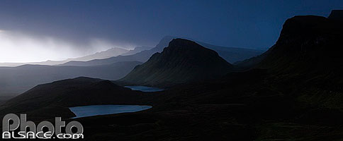 Photo : Loch Leum na Luirginn et Cleat, Isle of Skye, Highlands, Scotland, United Kingdom