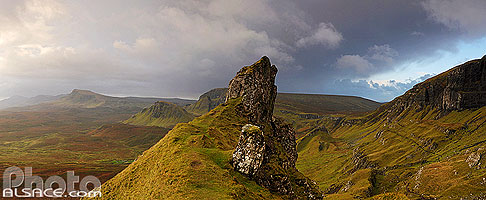 Photo : The Prison, Quiraing, Isle of Skye, Highlands, Scotland, United Kingdom