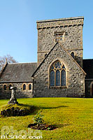 Photo : Saint Orans Church, Connel, Argyll and Bute, Strathclyde, Scotland, United Kingdom