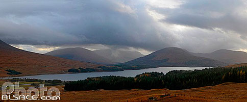 Photo : Loch Tulla et Beinn Inverveigh, Argyll and Bute, Strathclyde, Scotland, United Kingdom