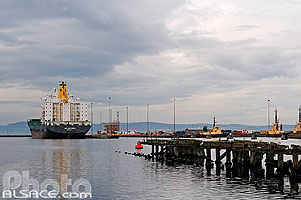 Photo : Leith Port, Edinburgh, Lothian, Scotland, United Kingdom