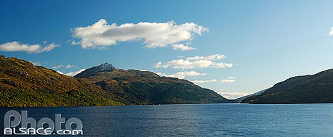 Loch Lomond at Inveruglas, Loch Lomond & The Trossachs, Stirling, Highlands, Scotland, United Kingdom