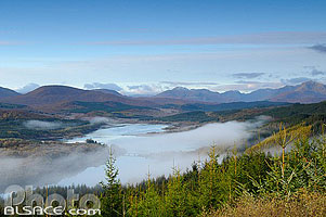 Loch Garry, Highlands, Scotland, United Kingdom