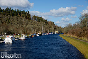 Canal Calédonien, Dochgarroch, Inverness-shire, Ecosse, Royaume-Uni // Caledonian Canal, Dochgarroch, Inverness-shire, Highlands, Scotland, United Kingdom, Higlands, Scotland