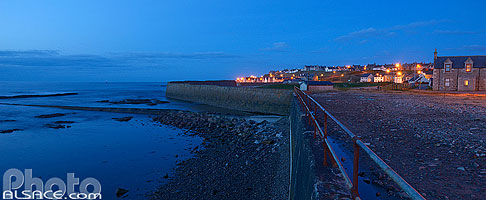 Photo : Buckie la nuit, Moray, Highlands, Scotland, United Kingdom