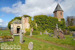 Photo : The Gaelic Chapel, Cromarty, Ross and Cromarty, Highlands, Scotland, United Kingdom