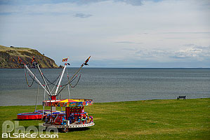 Photo : Fête forraine, Cromarty, Ross and Cromarty, Highlands, Scotland, United Kingdom, Higlands, Scotland