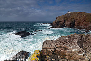 Photo : Point of Stoer lighthouse, North West Sutherland, Highlands, Scotland, United Kingdom