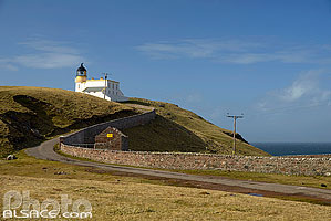 Photo : Point of Stoer lighthouse, North West Sutherland, Highlands, Scotland, United Kingdom, Higlands, Scotland