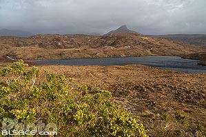Loch na Dail, Wester Ross, Highlands, Scotland, United Kingdom