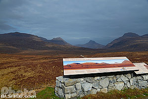 Photo : Deep freeze mountain, Drumrunie, Wester Ross, Highlands, Scotland, United Kingdom