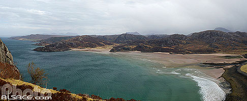 Photo : Gruinard Bay, Wester Ross, Highlands, Scotland, United Kingdom