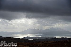 Bealach na Ba Viewpoint, Applecross, Wester Ross, Highlands, Scotland, United Kingdom